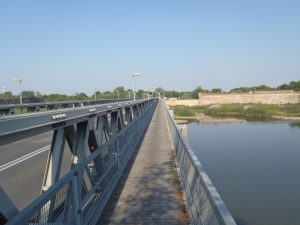 Blick über die Oder Richtung Küstrin